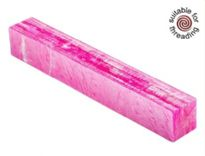 Kirinite Magenta Ice pen blank